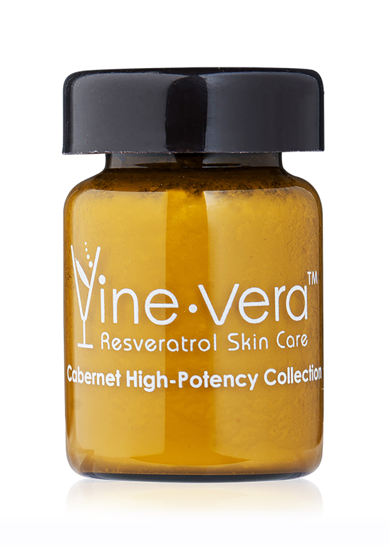 front view of cabernet high potency serum