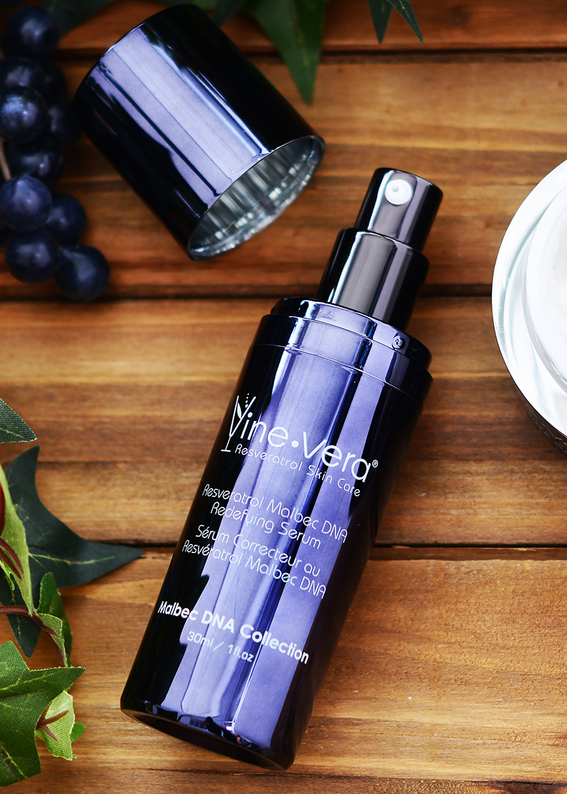 Malbec DNA Redefying Serum with background