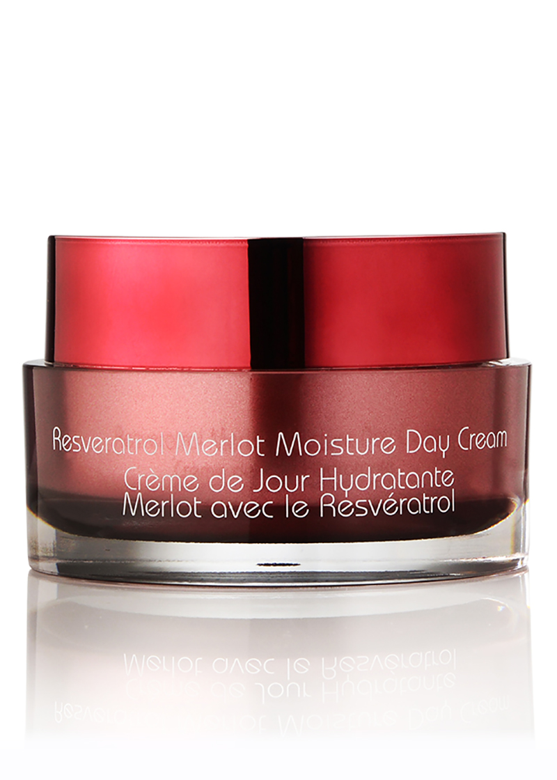 back view of Resveratrol Moisture Day Cream
