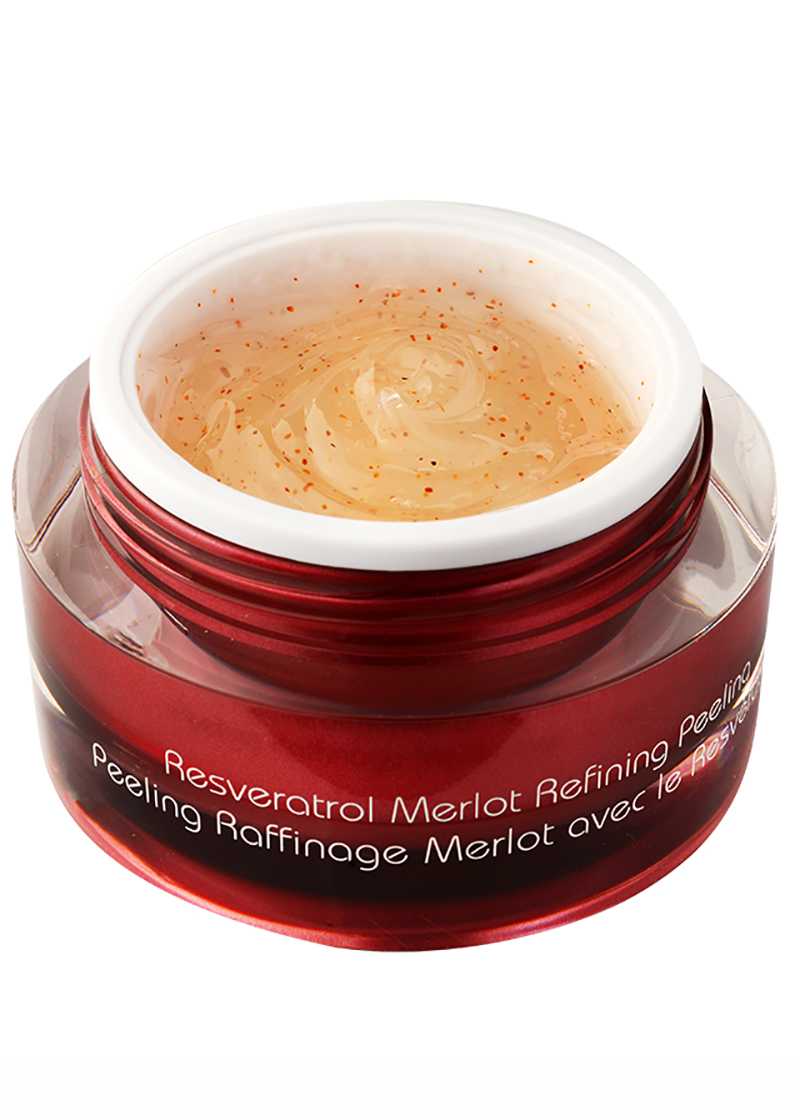 Resveratrol Refining Peeling without its lid